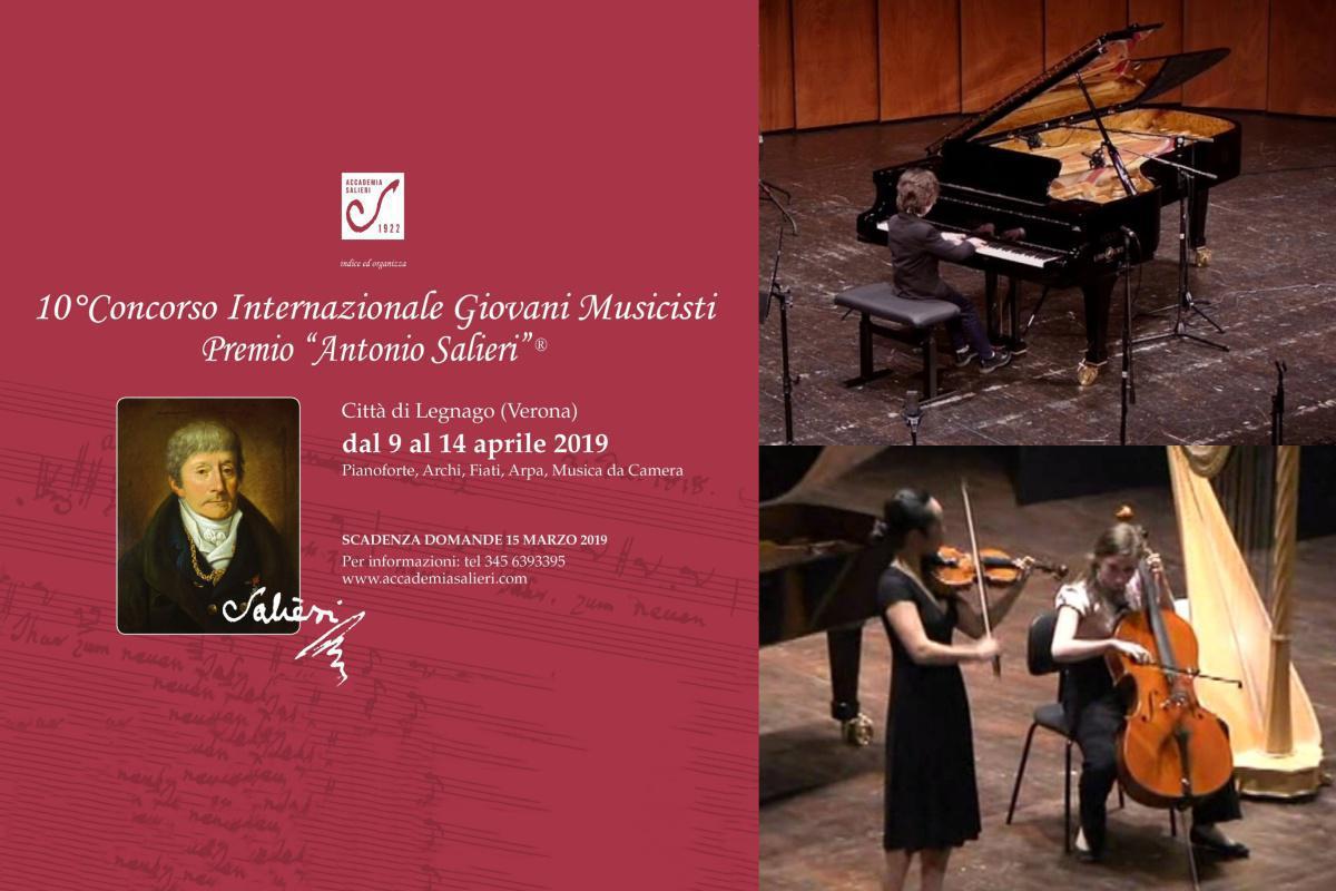 """10° Concorso Premio """"Antonio Salieri"""""""