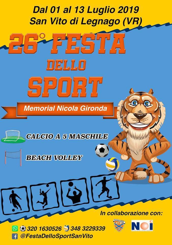 26a Festa dello Sport