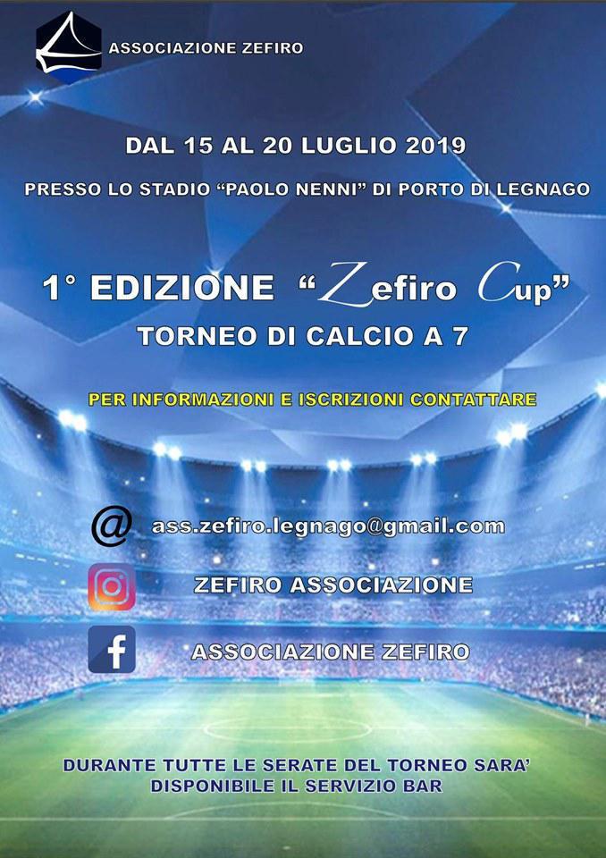 Torneo di calcio a 7: Zefiro Cup