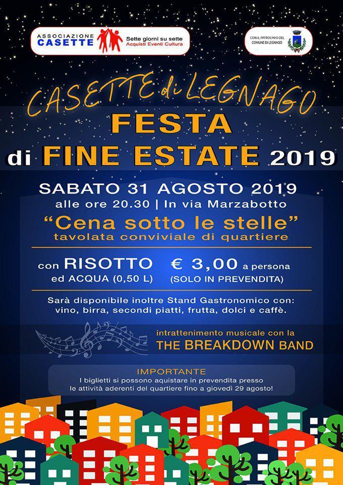 Festa di Fine Estate @Casette