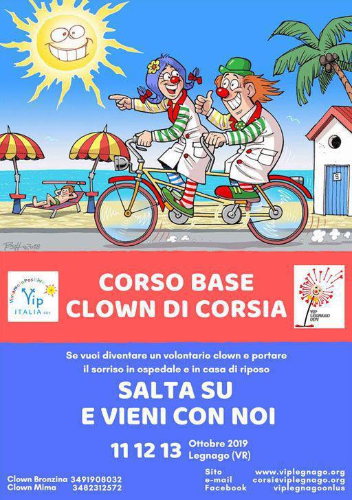 Corso Base Clown di Corsia
