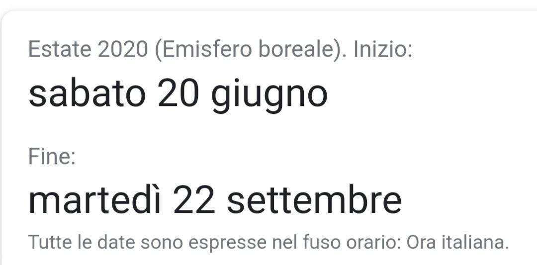 21 Giugno 2020