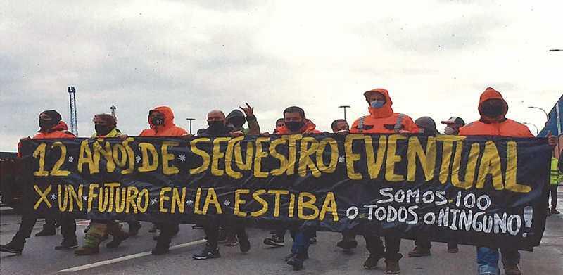 La estiba de Bilbao apura los tiempos para desbloquear el conflicto y evitar otra huelga