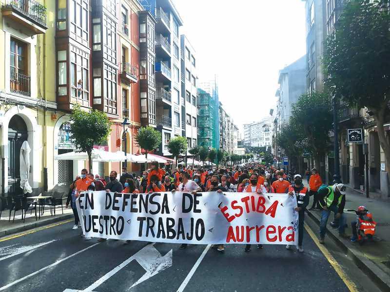 1 mes de huelga en el Puerto de Bilbao