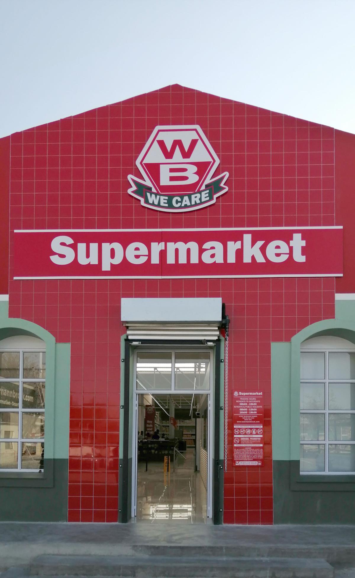 New Karibib Centre and Supermarket