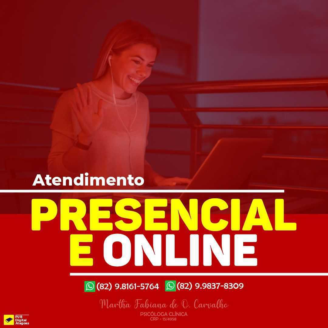 Martha Fabiana de Oliveira Carvalho (CRP - 15/4958)