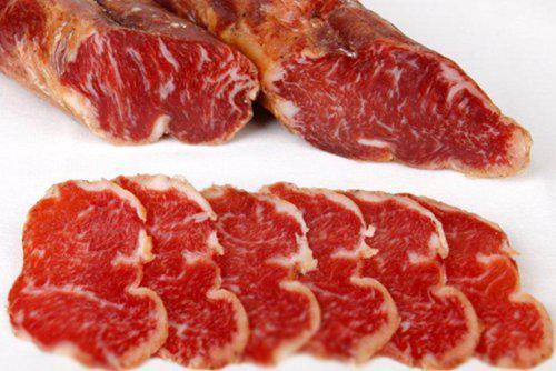 Caña de lomo 100% Iberico de bellota 1 kg aprox 45€ Natural