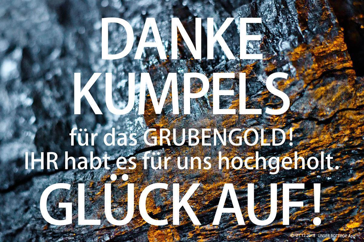 ⚒ DANKE KUMPELS und GLÜCK AUF!!!