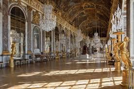 قصر فرساي - المواقف