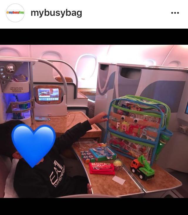 My busy bag حقيبة طفلك اثناء السفر و الرحلات