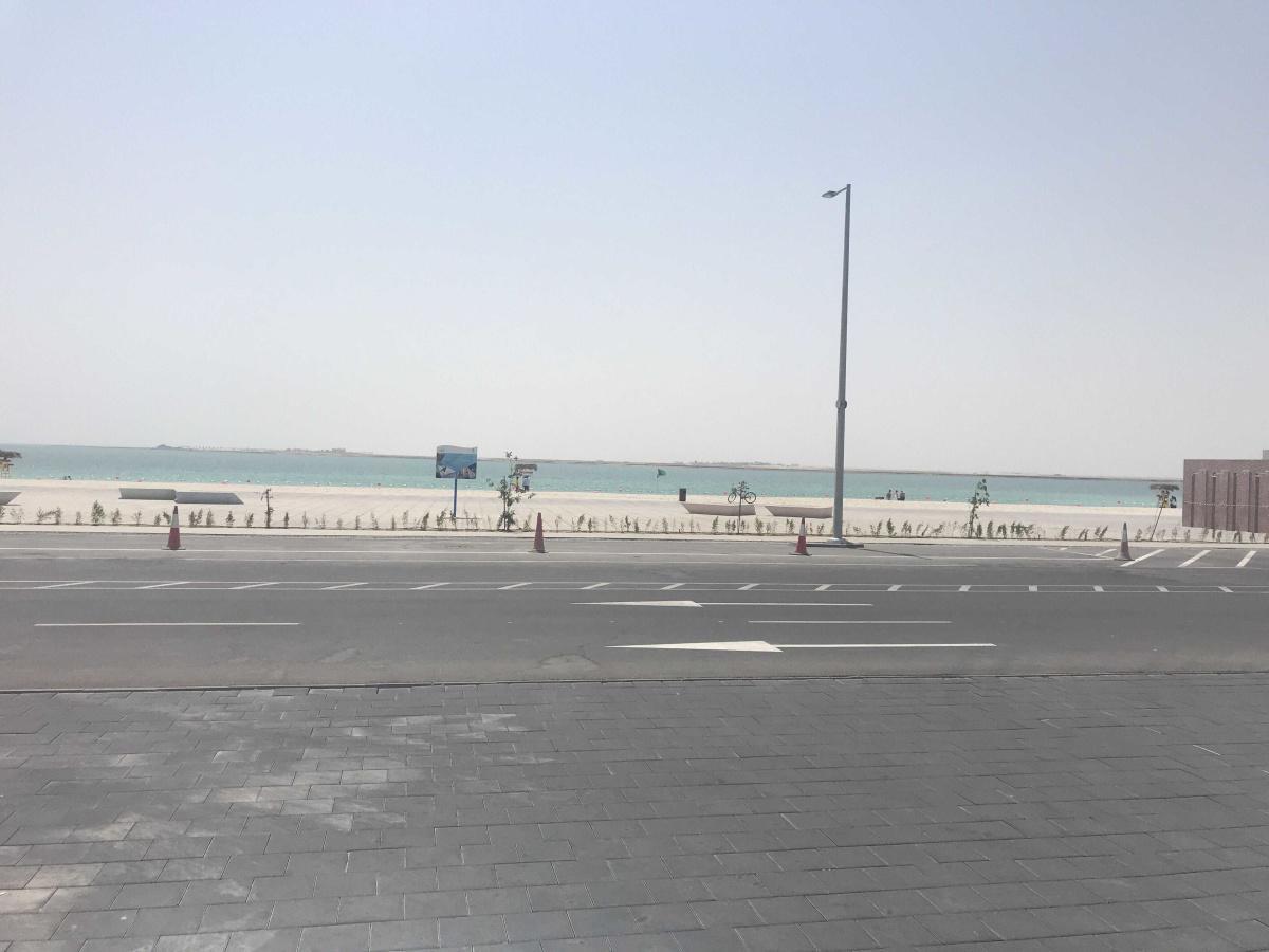 جزيرة الحديرات في ابوظبي