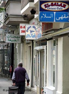 شارع المحلات العربية