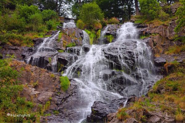 Todtnau waterfall شلال