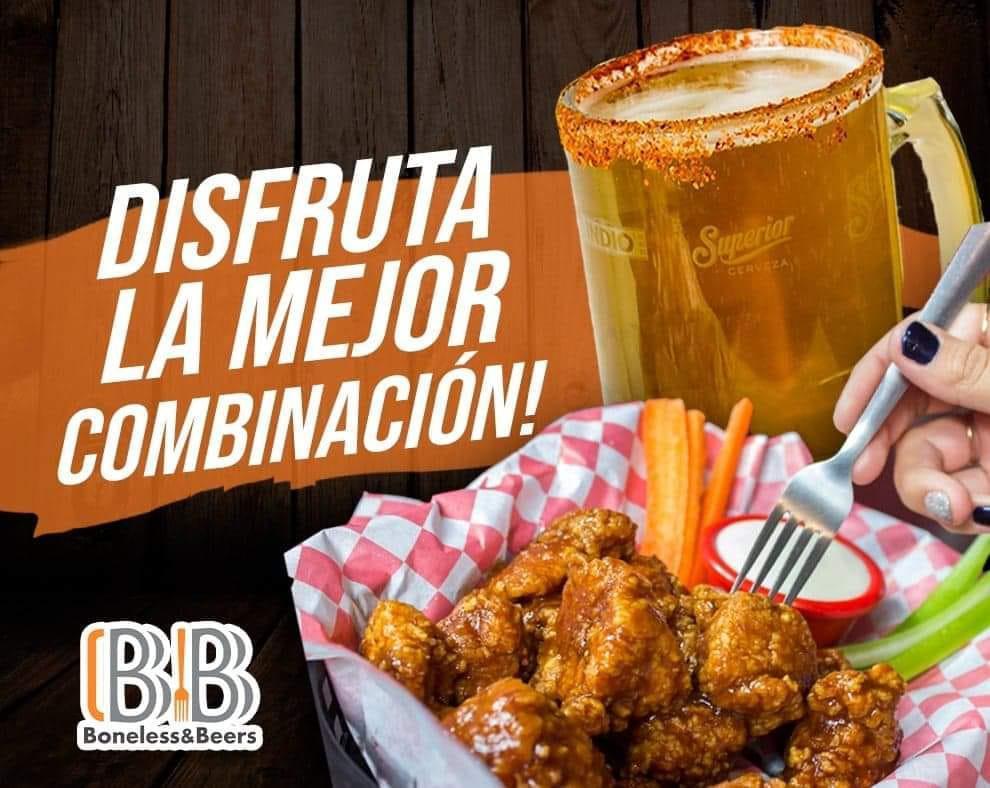 Boneless & Beers Terraza