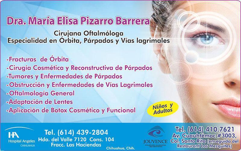 Dra. María Elisa Pizarro Barrera
