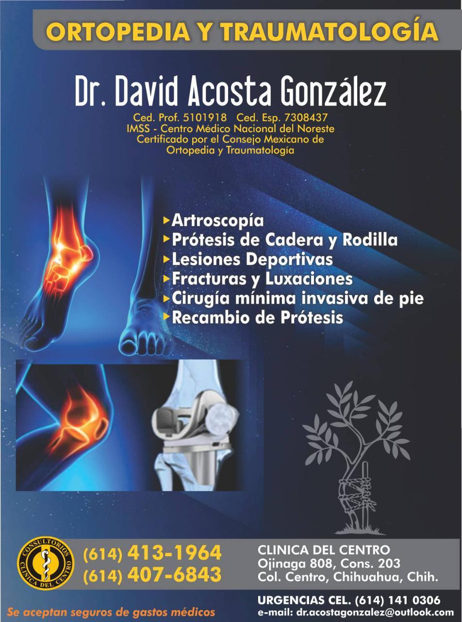 Dr. David Acosta González