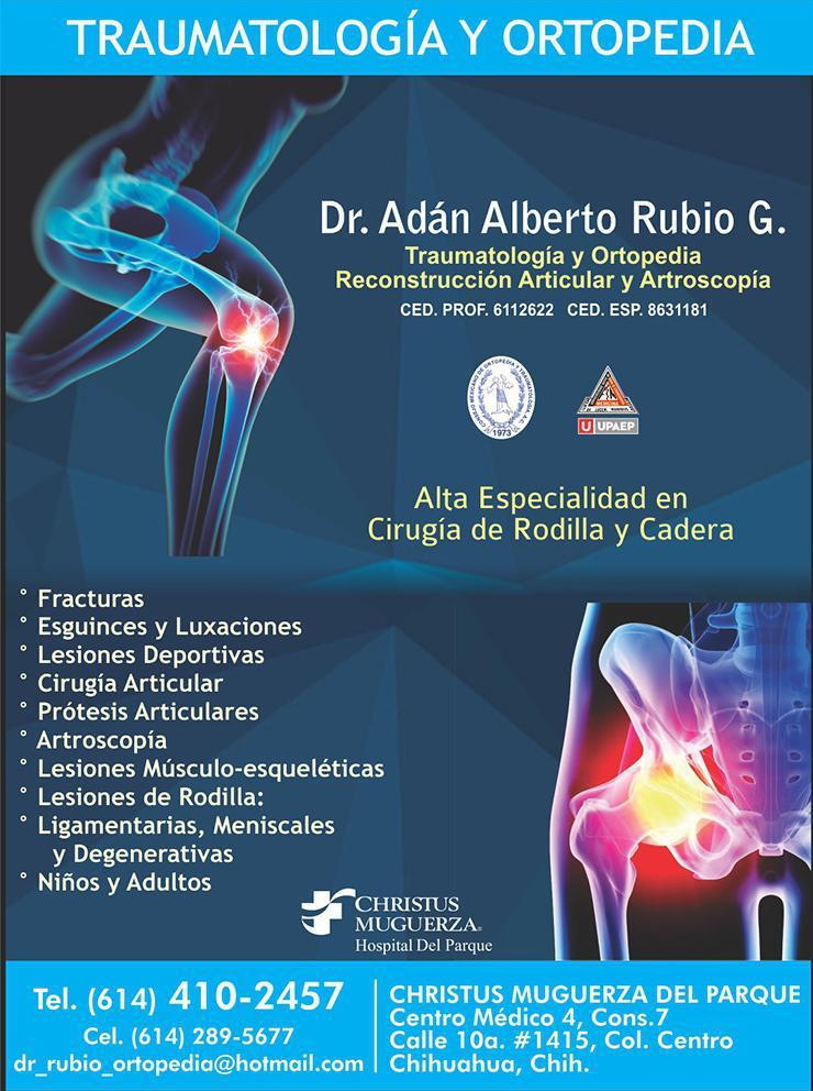 Dr. Adán Alberto Rubio G.