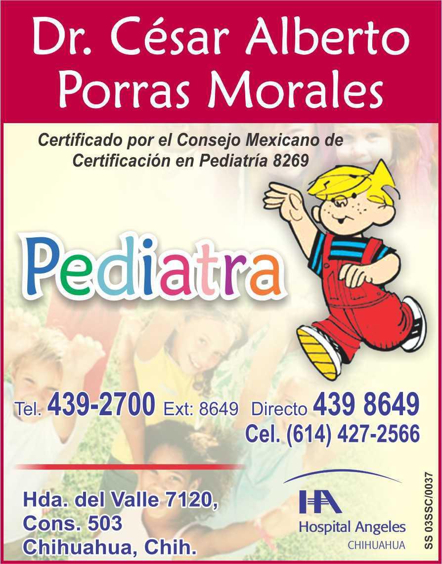Dr. César Alberto Porras Morales