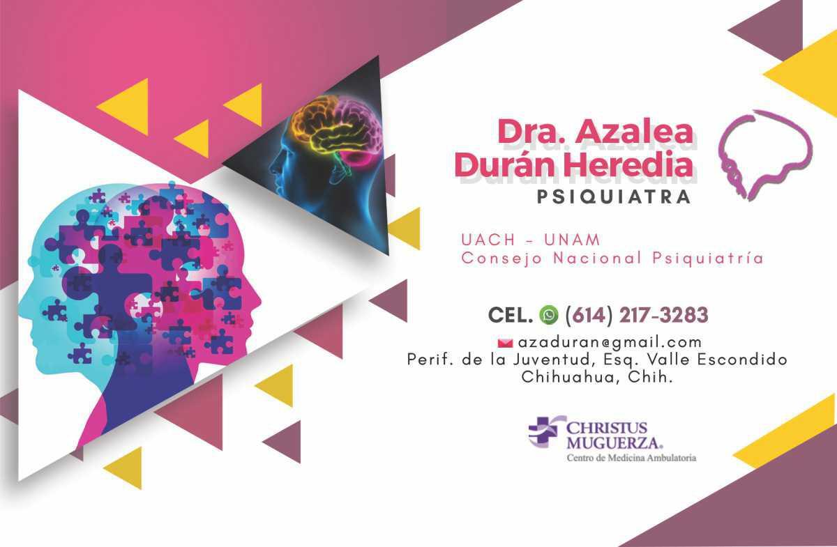 Dra. Azalea Durán Heredia
