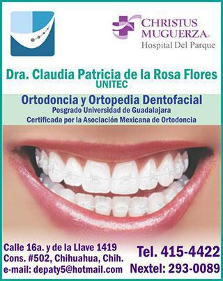 Dra. Claudia Patricia de la Rosa Flores