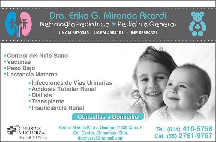 Dra. Erika G. Miranda Ricardi