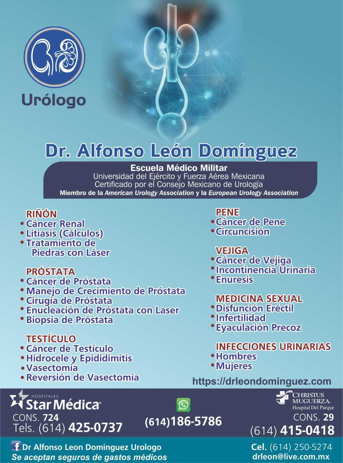 Dr. Alfonso Léon Domínguez