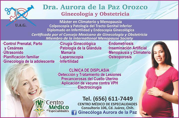 Dra. Aurora de la Paz Orozco