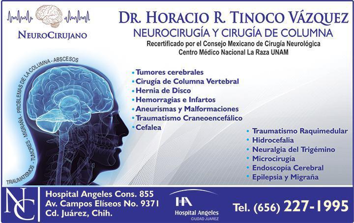 Dr. Horacio Rafael Tinoco Vázquez