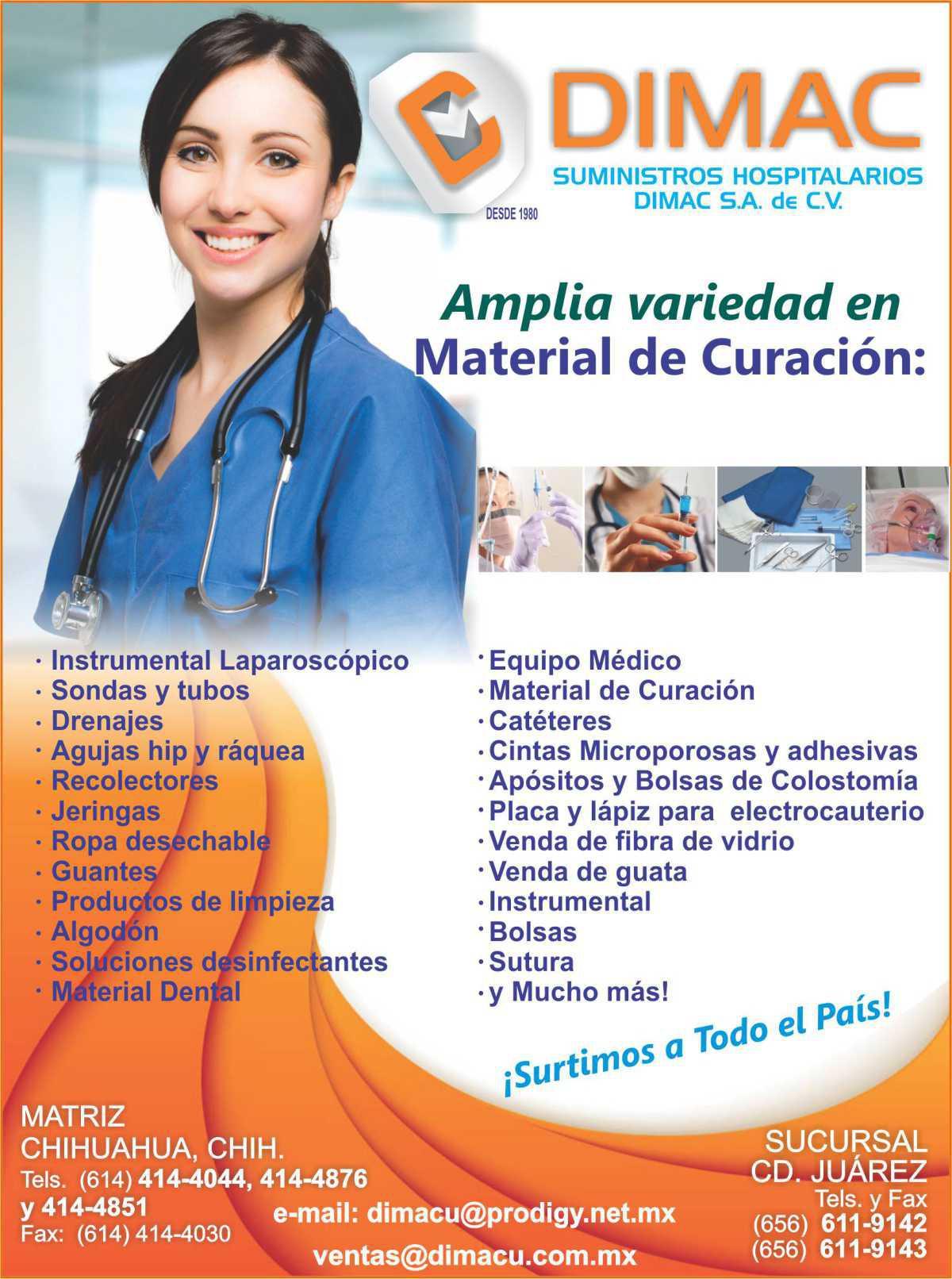 DIMAC Suministros Hospitalarios Dimac, S.A. de C.V.