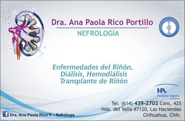 Dra. Ana Paola Rico Portillo