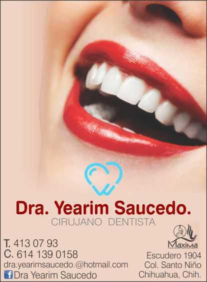 Dra. Yearim Saucedo