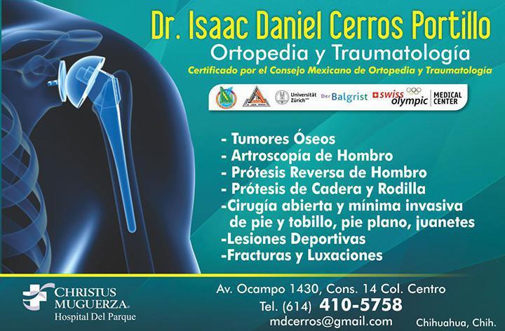 Dr. Isaac Daniel Cerros Portillo