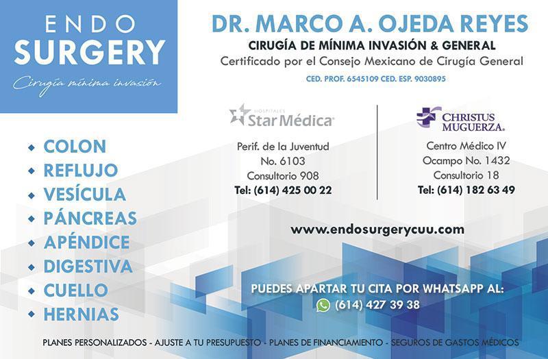 Dr. Marco A. Ojeda Reyes