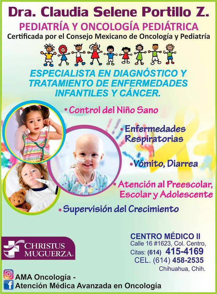 Dra. Claudia Selene Portillo Zavala