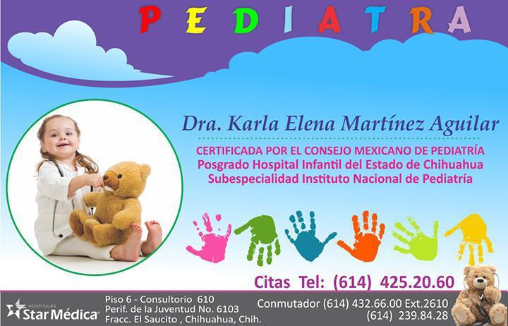 Dra. Karla Elena Martínez Aguilar