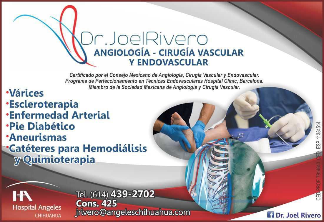 Dr. Joel Alonso Rivero Anchondo