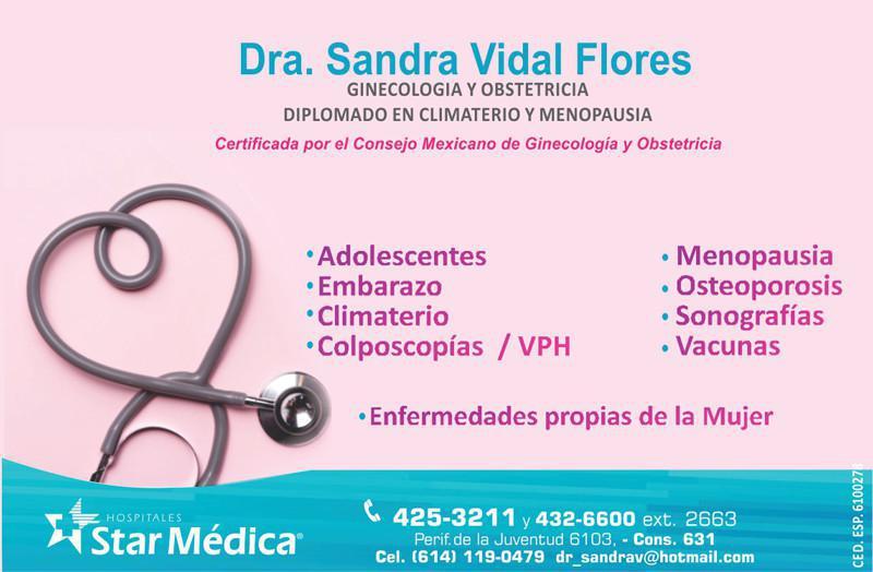 Dra. Sandra Vidal Flores