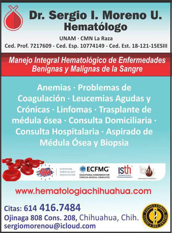Dr. Sergio I. Moreno U.