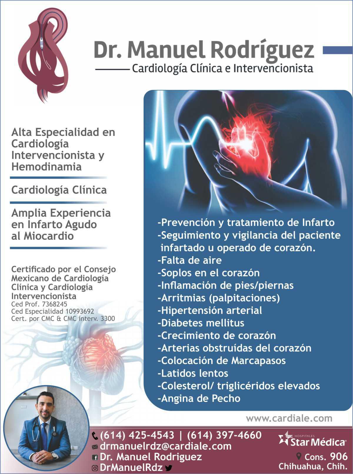 Dr. Manuel Rodriguez C.