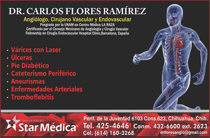 Dr. Carlos Flores Ramírez