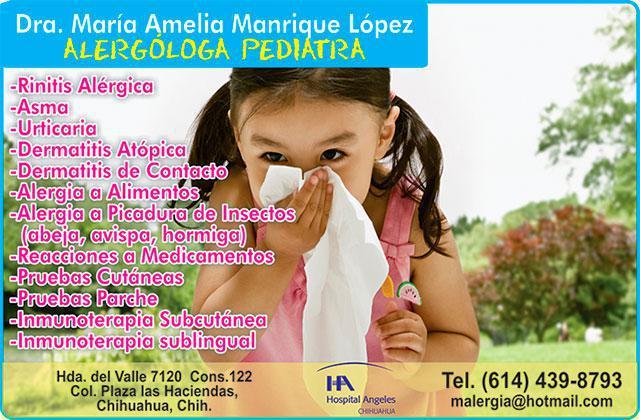Dra. María Amelia Manrique López