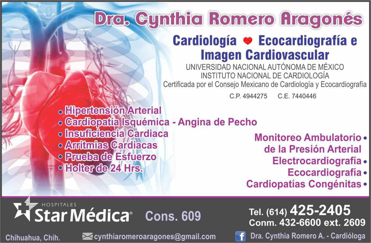 Dra. Cynthia Romero Aragonés