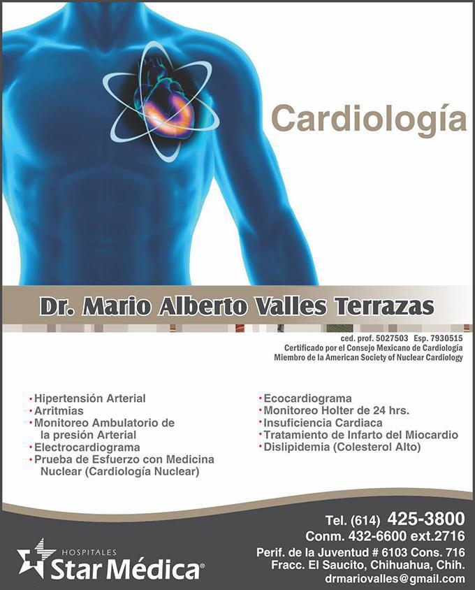 Dr. Mario Alberto Valles Terrazas