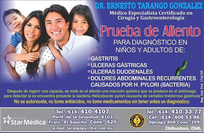 Dr. Ernesto Tarango González