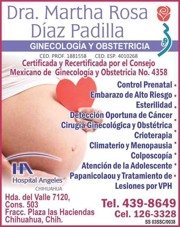 Dra. Martha Rosa Díaz Padilla