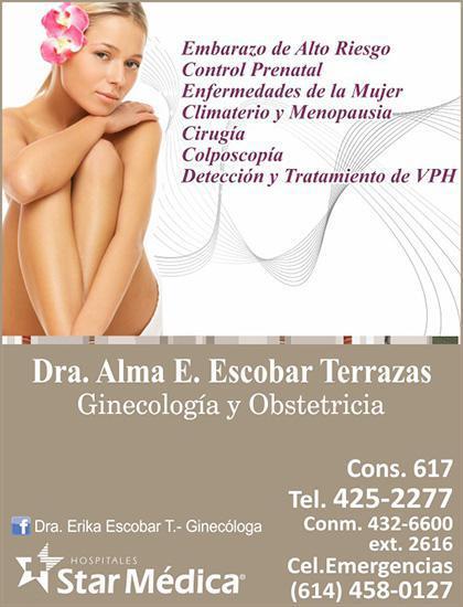 Dra. Alma Erika Escobar Terrazas