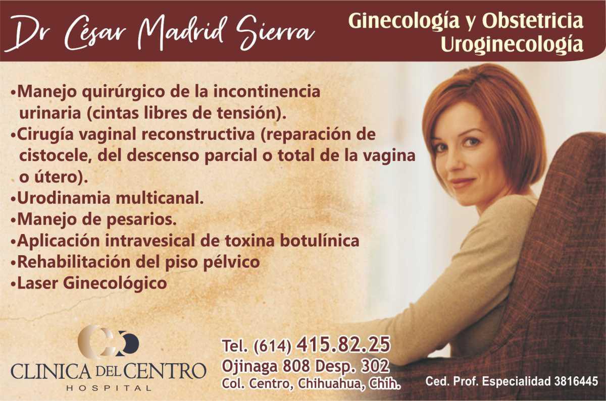 Dr. César Madrid Sierra