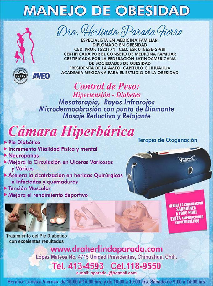 Dra. Herlinda Parada Fierro