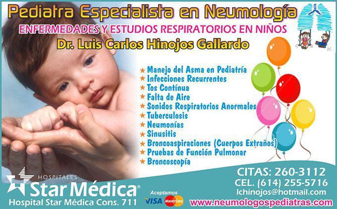 Dr. Luis Carlos Hinojos Gallardo