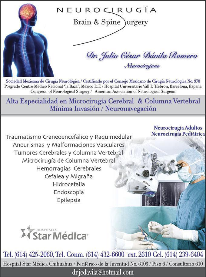 Dr. Julio César Dávila Romero